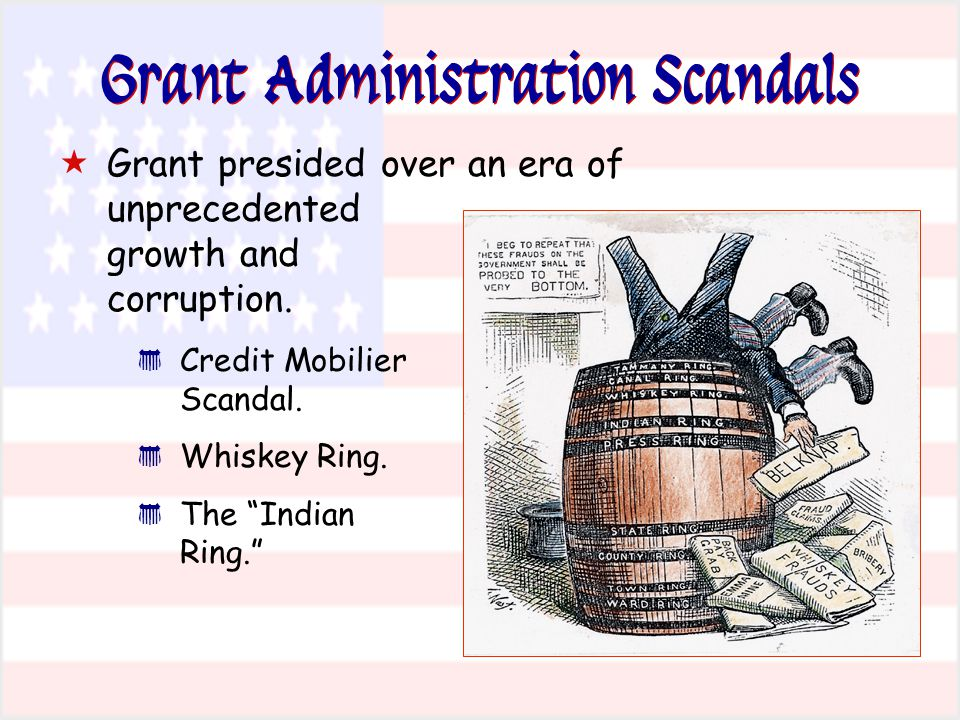 Grant Administration Scandals