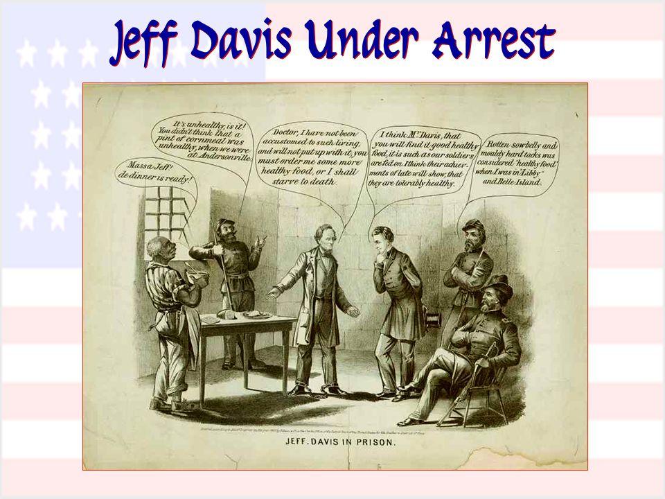 Jeff Davis Under Arrest