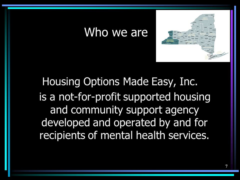 Housing Options Made Easy, Inc.
