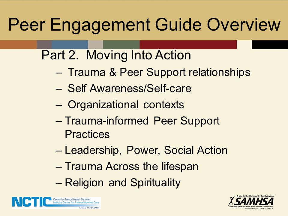 Peer Engagement Guide Overview
