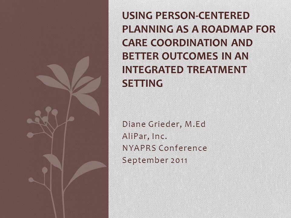 Diane Grieder, M.Ed AliPar, Inc. NYAPRS Conference September 2011