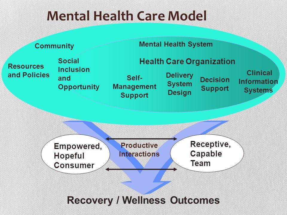 Mental Health Care Model