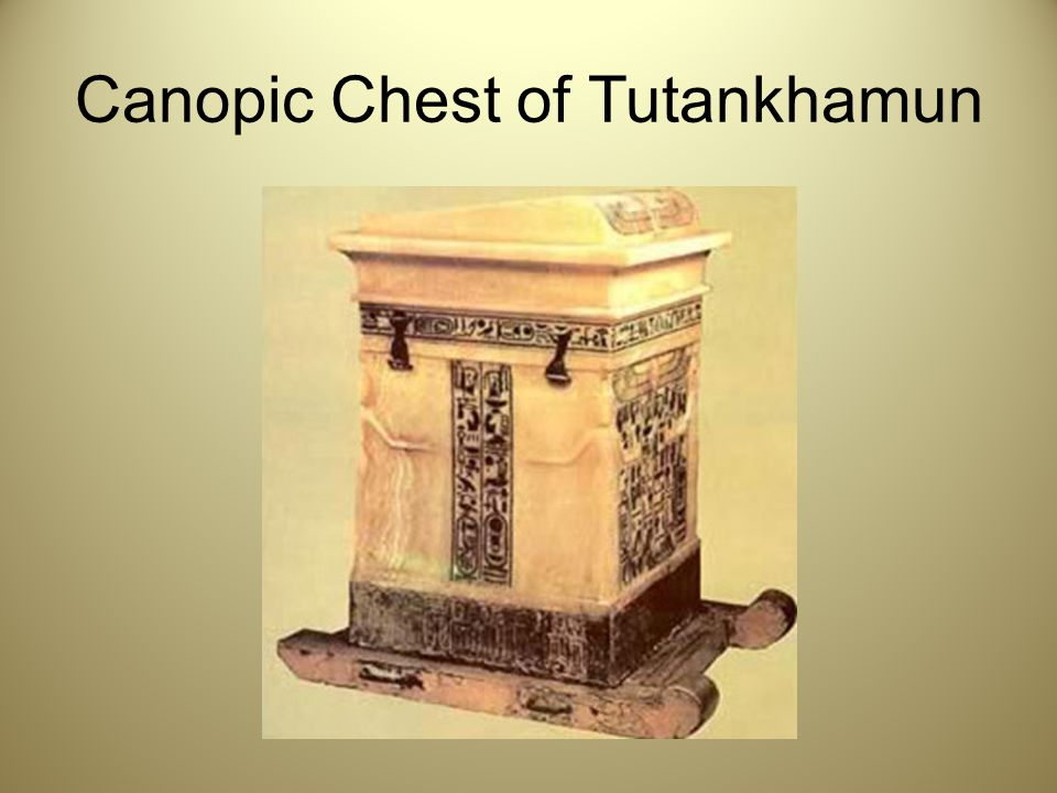 Canopic Chest of Tutankhamun