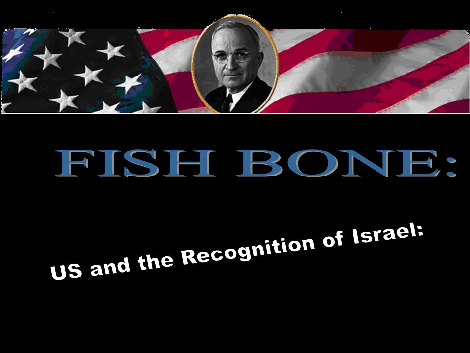 US and the Recognition of Israel: