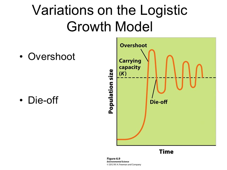 Variations on the Logistic Growth Model