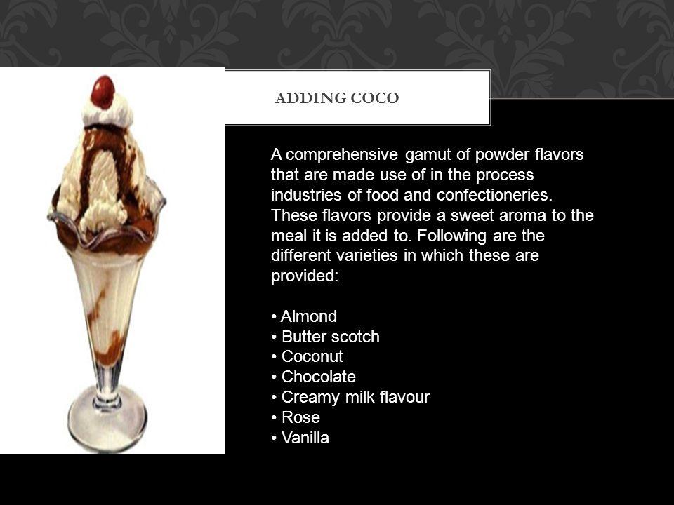 Adding coco