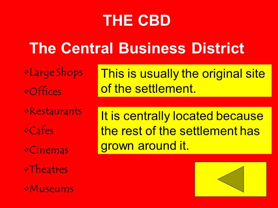 The Central Business District