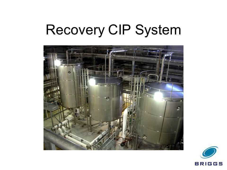 Recovery CIP System