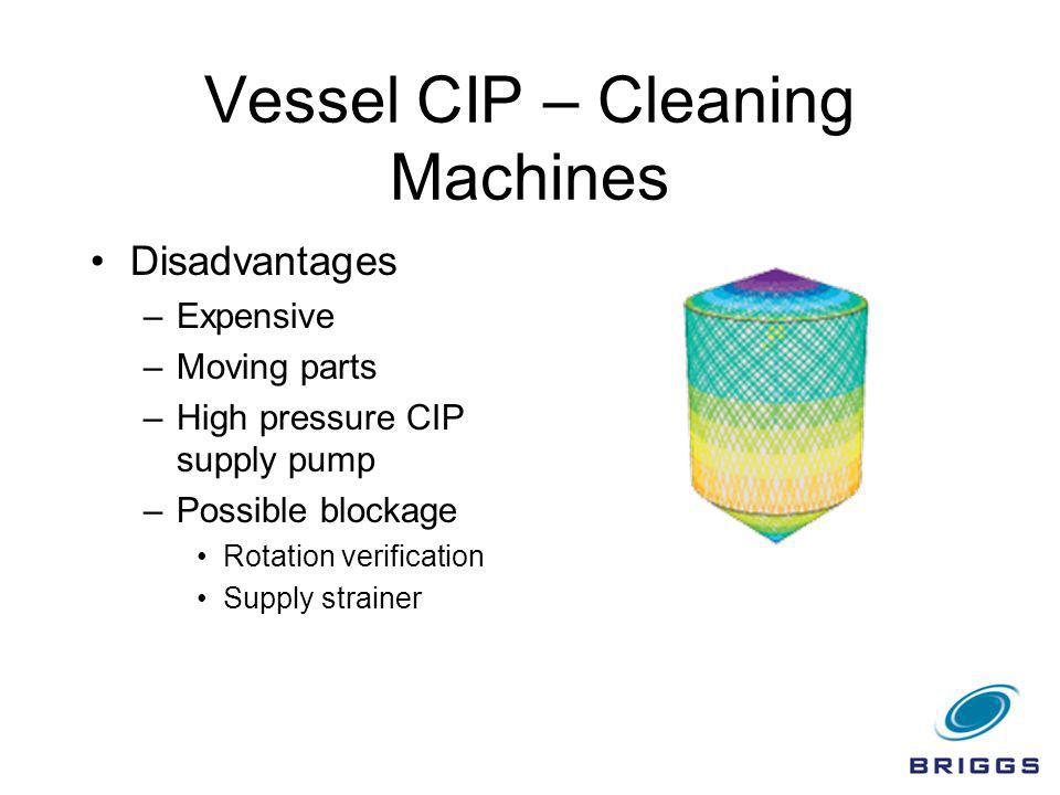 Vessel CIP – Cleaning Machines