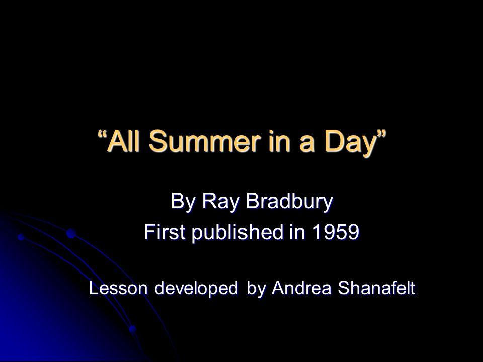 Lesson developed by Andrea Shanafelt