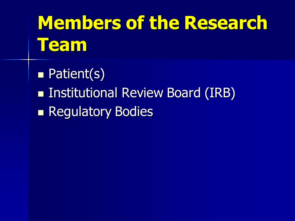 Members of the Research Team