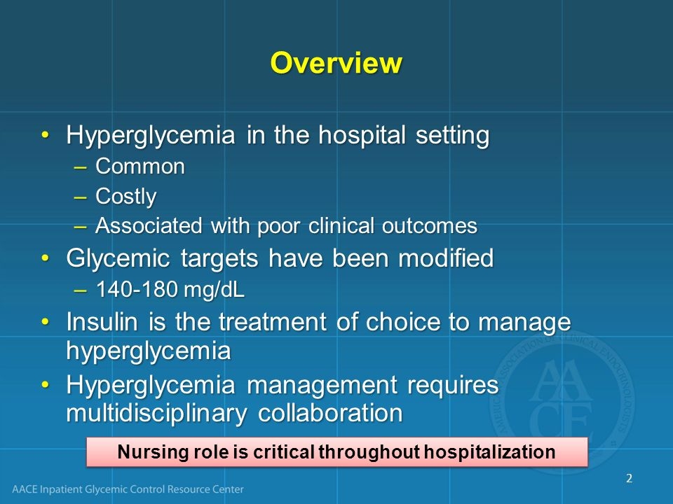 Nursing role is critical throughout hospitalization