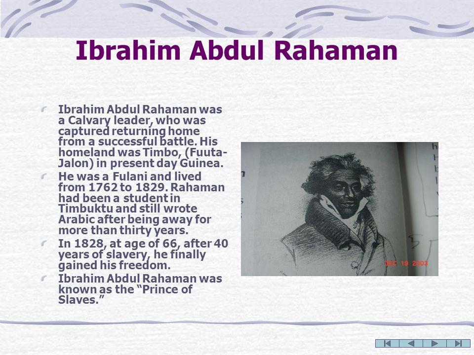 Ibrahim Abdul Rahaman