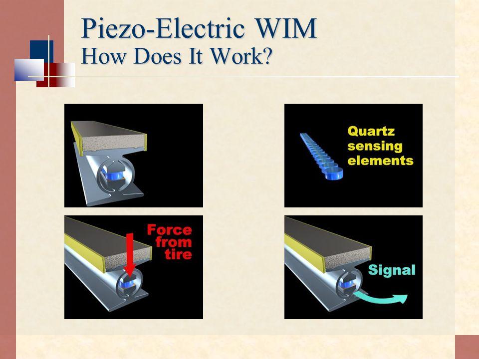 Piezo-Electric WIM How Does It Work