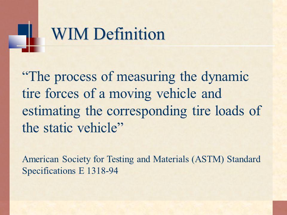 WIM Definition