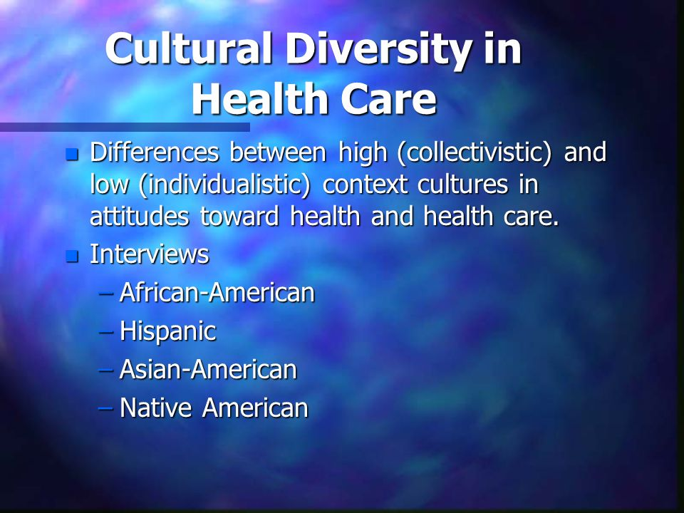 culturally competant care to native american Strive to provide services in a competent and ethical  culturally sensitive  treatment and ethical practice  american and other indigenous clients  pedersen.