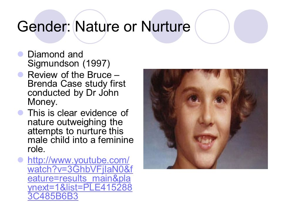 Gender: Nature or Nurture