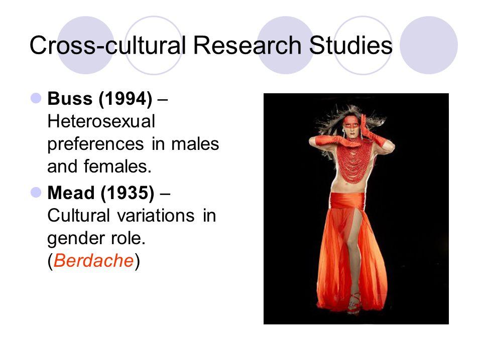 Cross-cultural Research Studies