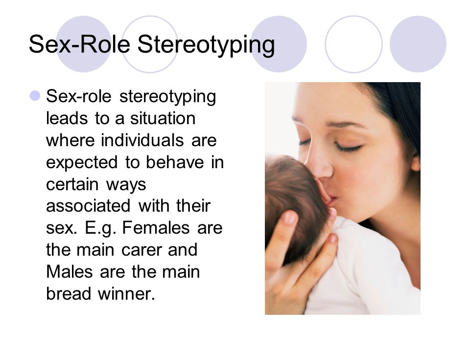 Sex-Role Stereotyping