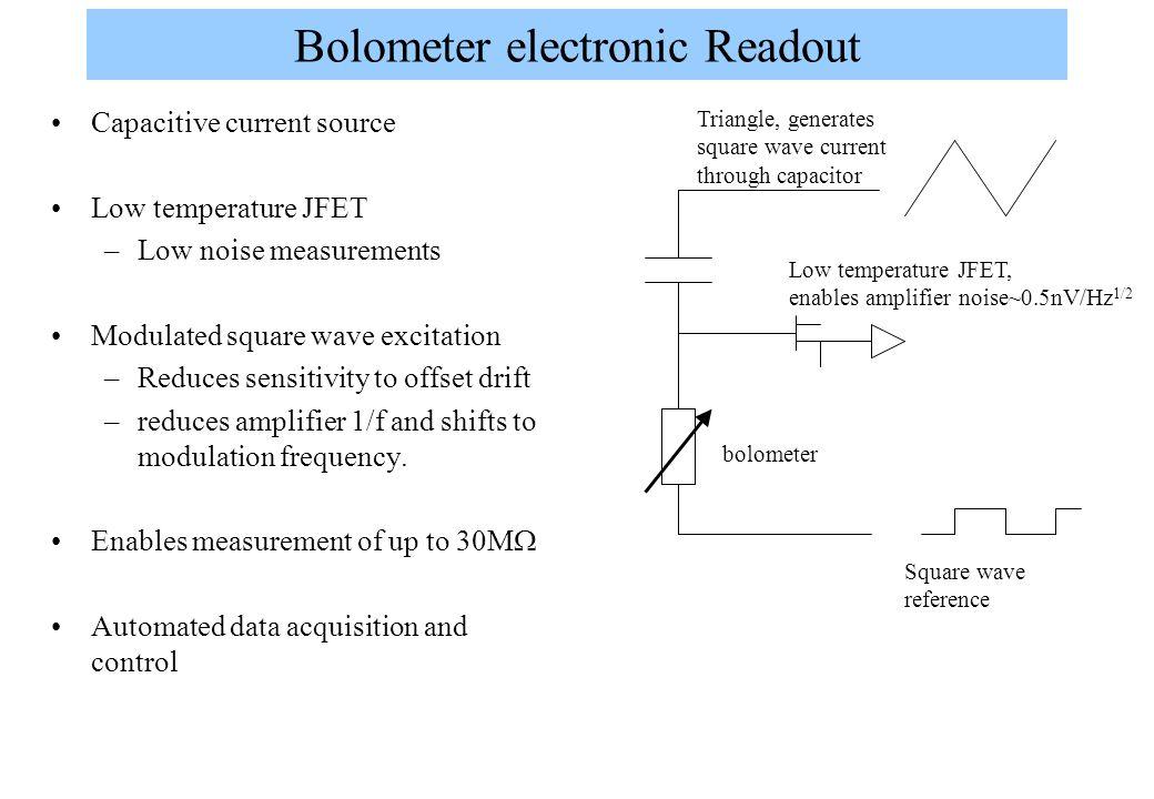 Bolometer electronic Readout