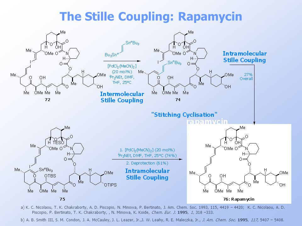 The Stille Coupling: Rapamycin