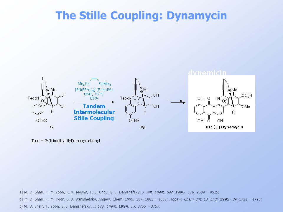 The Stille Coupling: Dynamycin