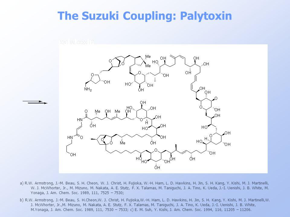 The Suzuki Coupling: Palytoxin