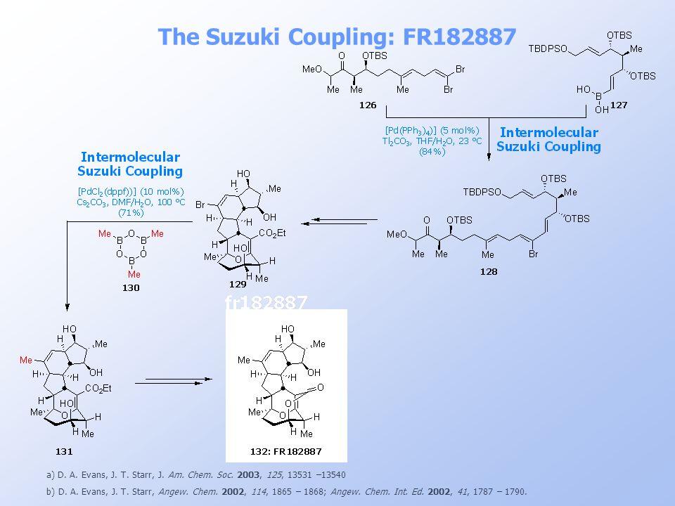 The Suzuki Coupling: FR182887