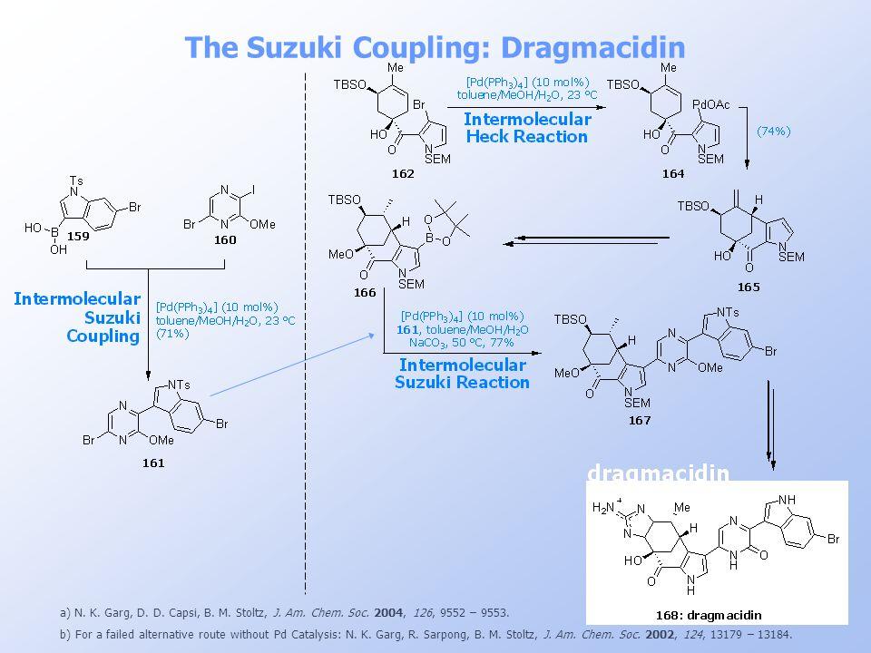 The Suzuki Coupling: Dragmacidin