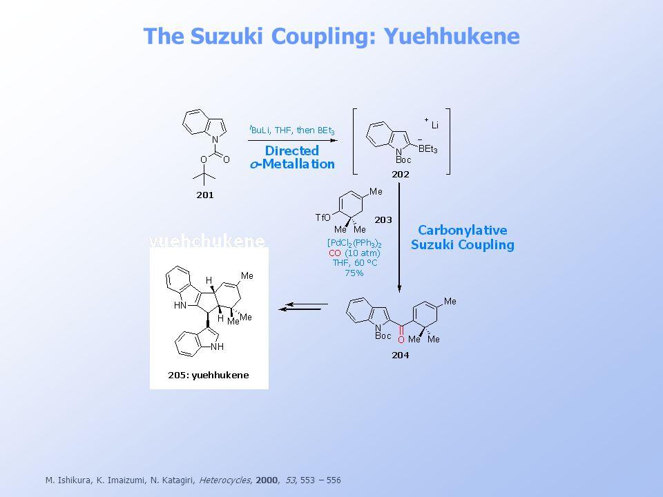 The Suzuki Coupling: Yuehhukene