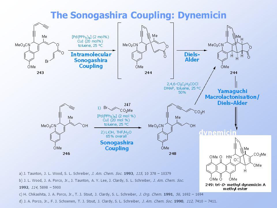 The Sonogashira Coupling: Dynemicin
