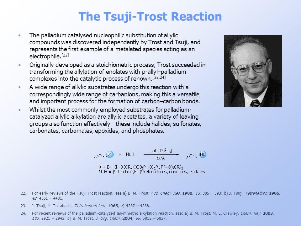 The Tsuji-Trost Reaction