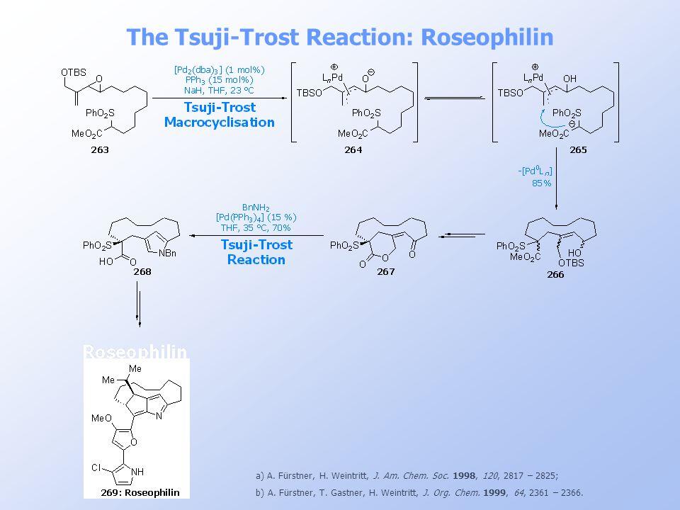 The Tsuji-Trost Reaction: Roseophilin