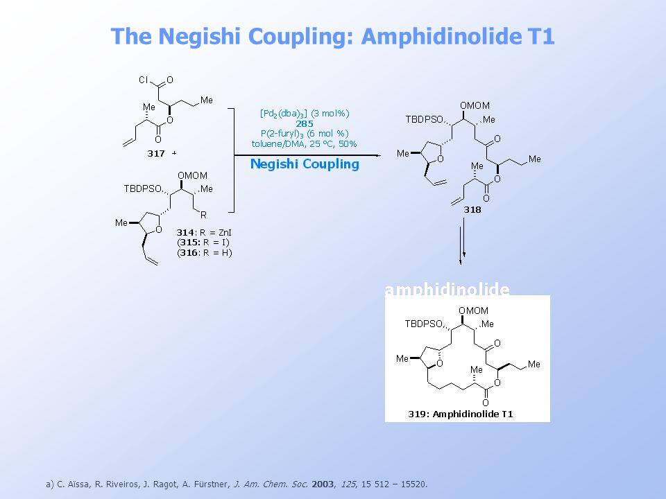 The Negishi Coupling: Amphidinolide T1