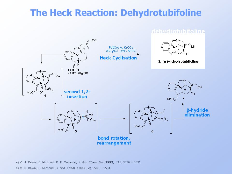 The Heck Reaction: Dehydrotubifoline