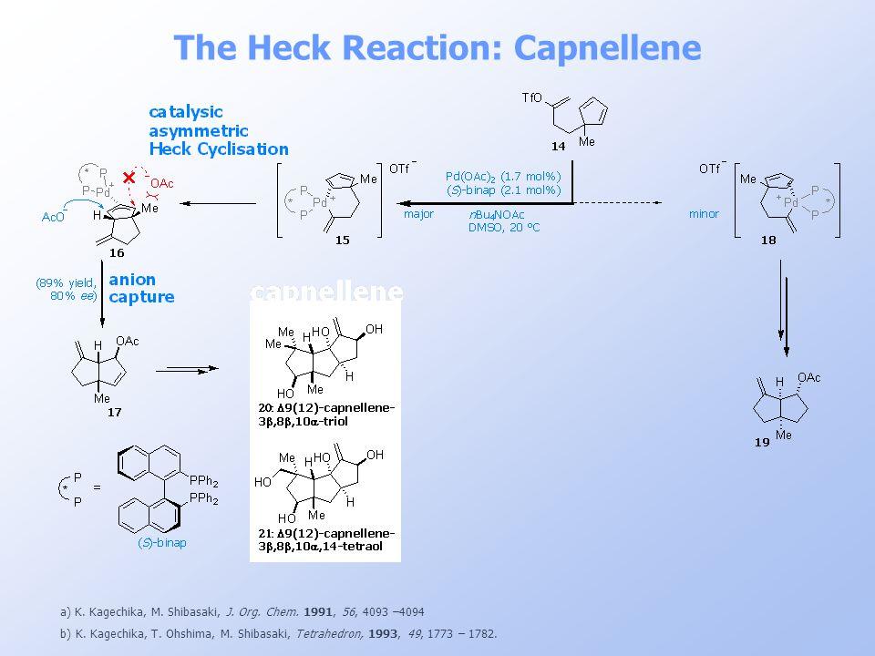 The Heck Reaction: Capnellene