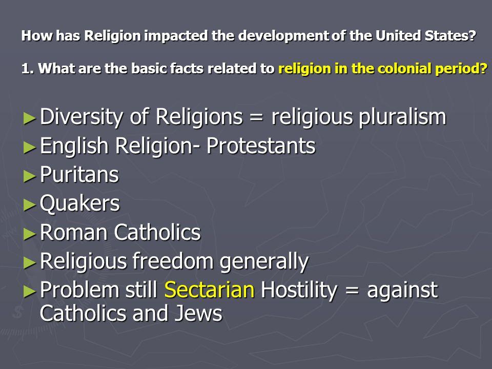Diversity of Religions = religious pluralism