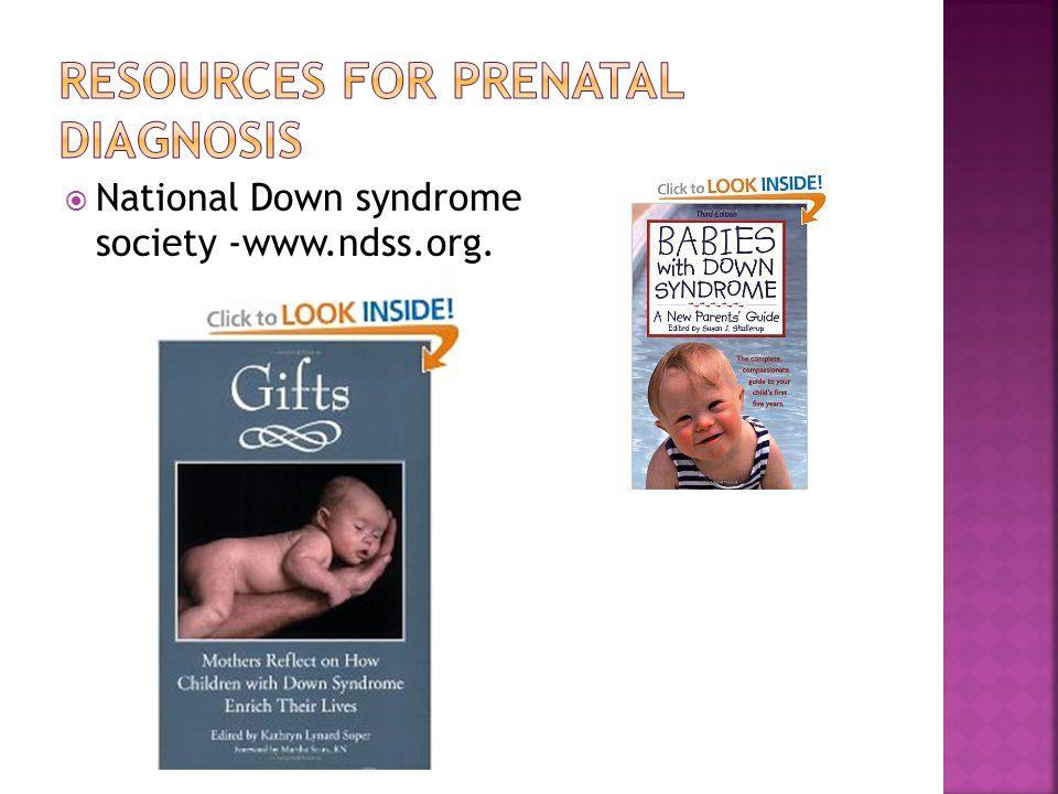 Resources for Prenatal diagnosis