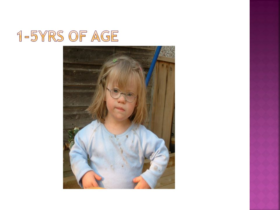 1-5yrs of age