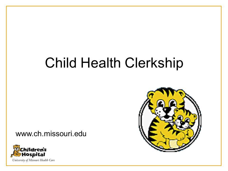 Child Health Clerkship