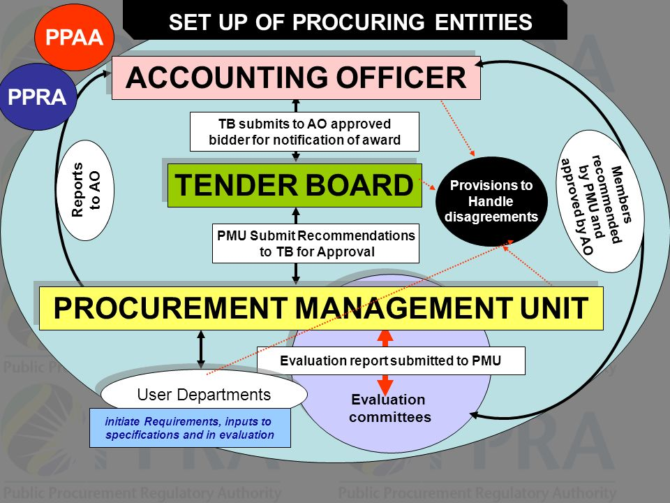 ACCOUNTING OFFICER PROCUREMENT MANAGEMENT UNIT