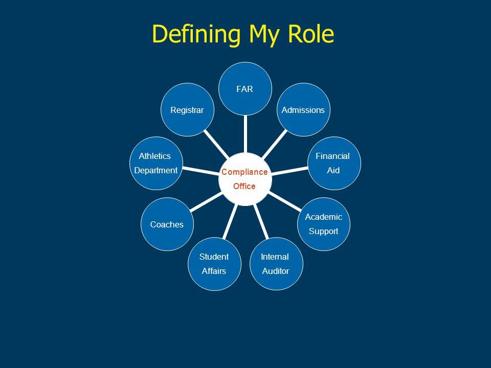 Defining My Role
