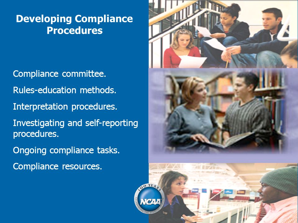 Developing Compliance Procedures