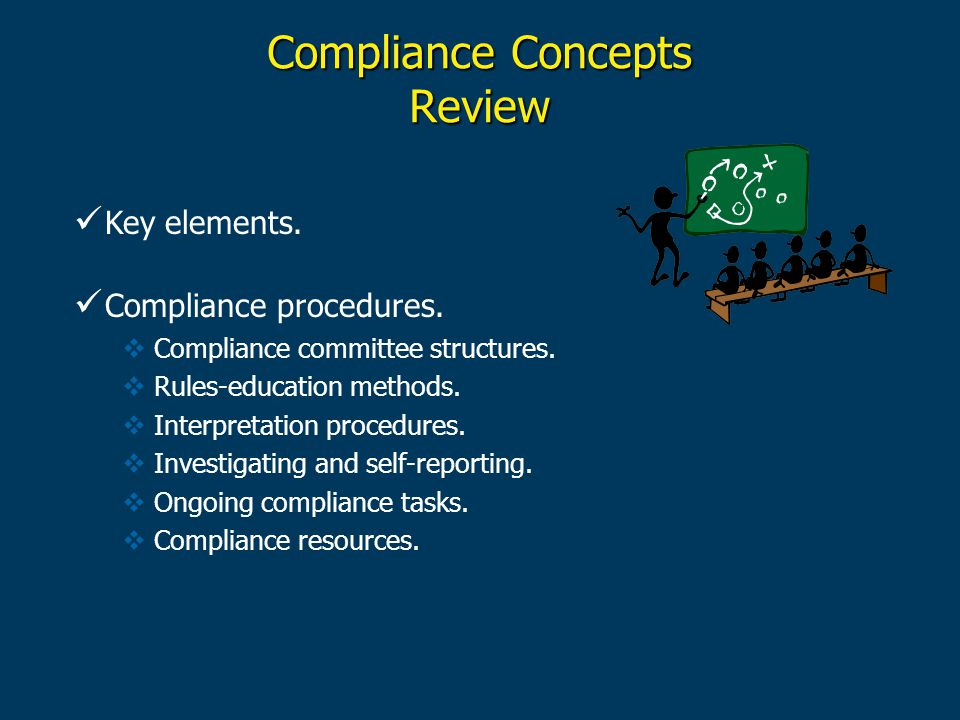 Compliance Concepts Review