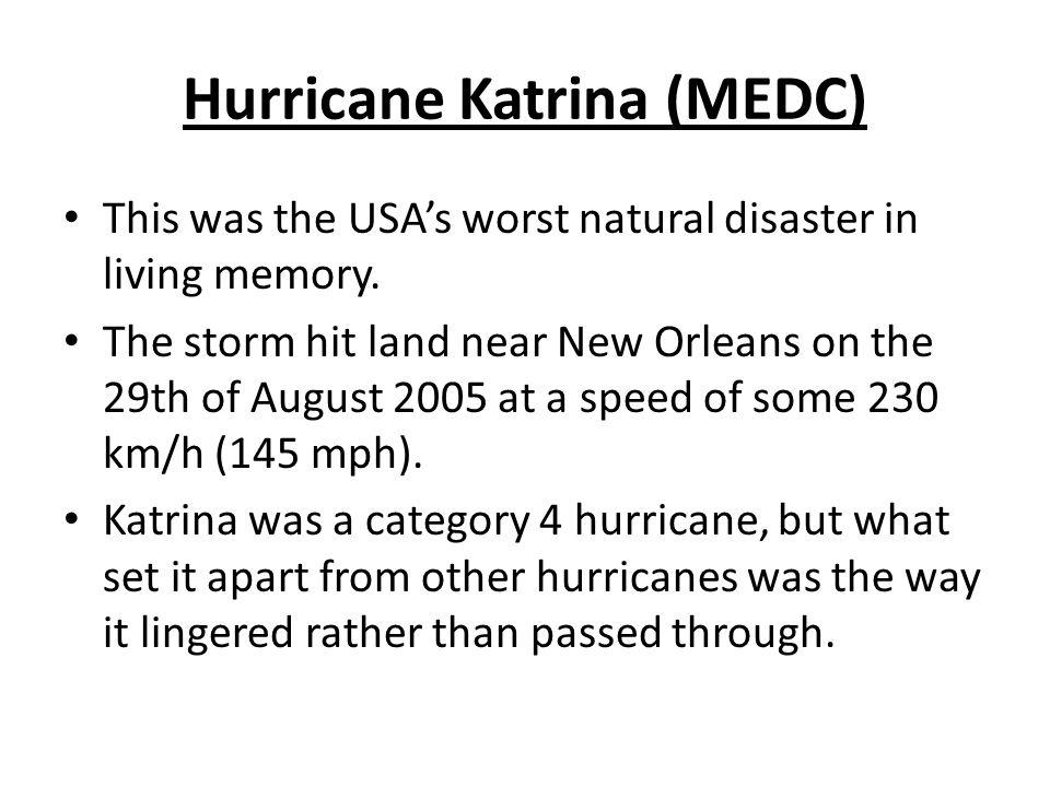 Hurricane Katrina (MEDC)