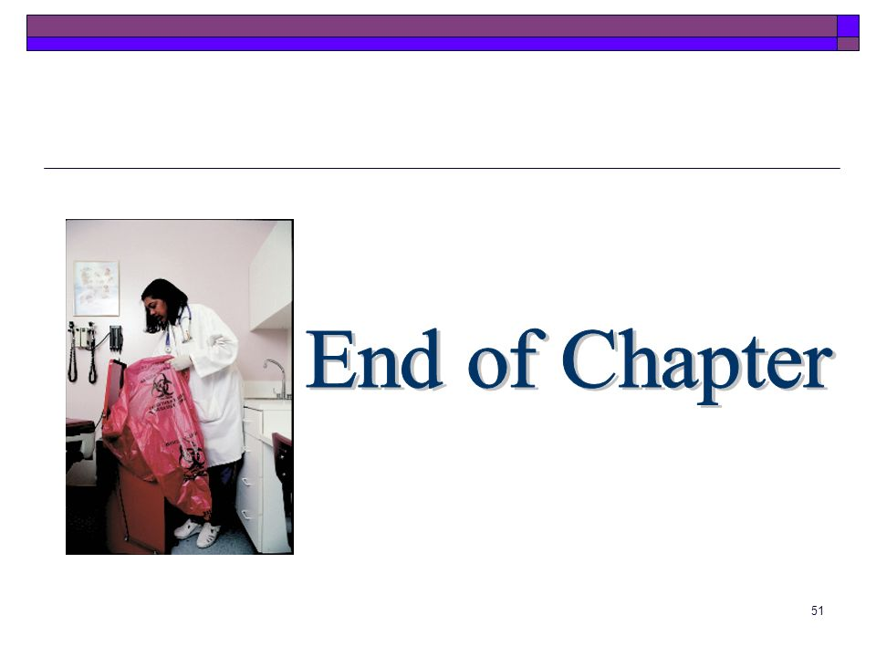 End of Chapter End of Chapter