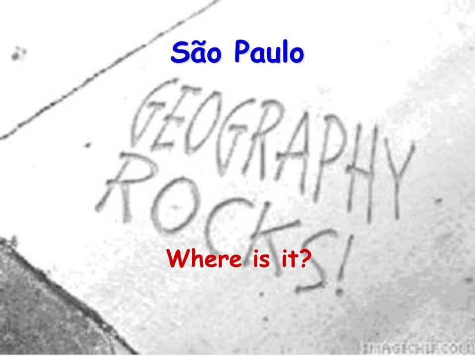 São Paulo Where is it
