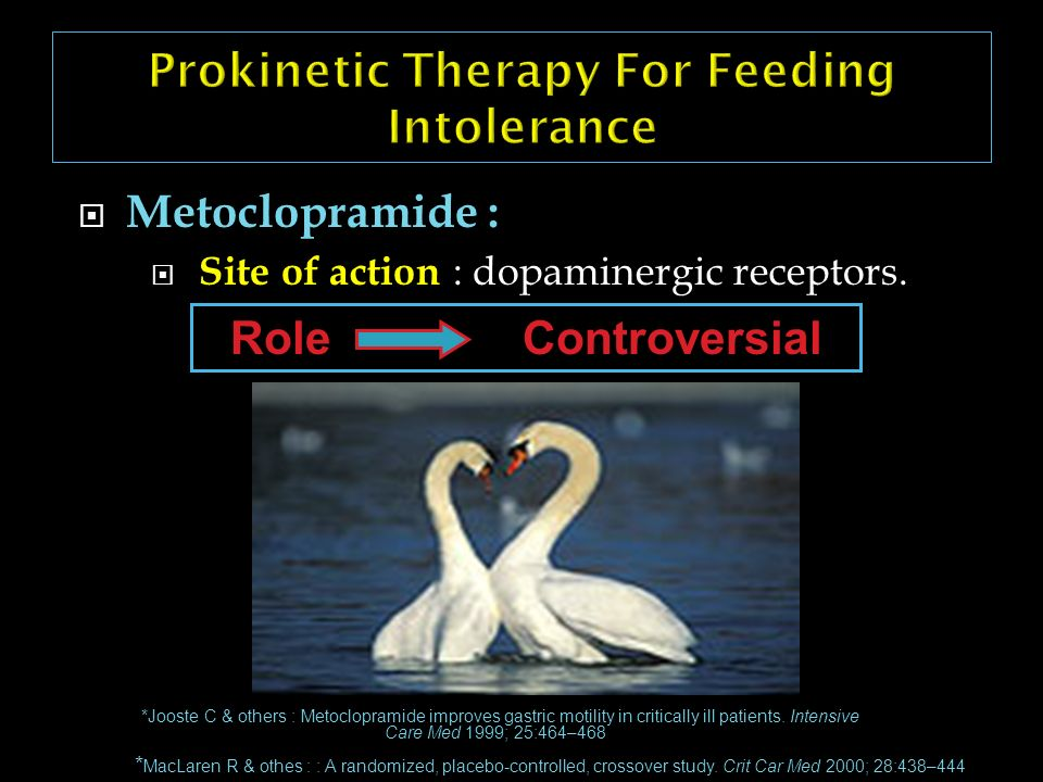 Prokinetic Therapy For Feeding Intolerance