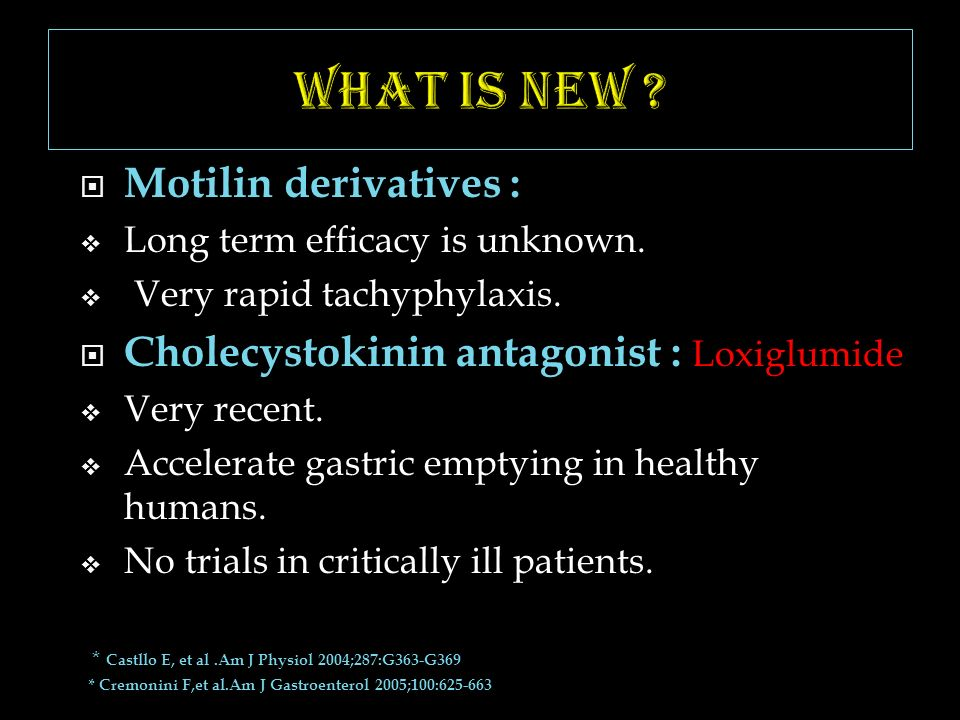 What is new Motilin derivatives :