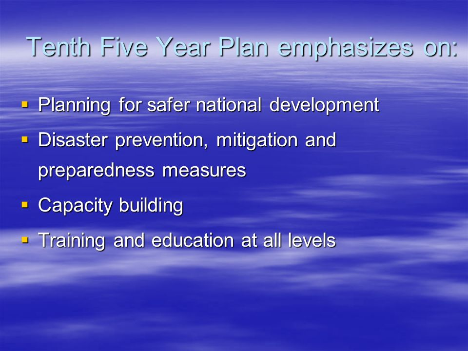 Tenth Five Year Plan emphasizes on:
